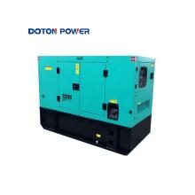 3-фазный бесшумный дизельный генератор мощностью 20 кВА