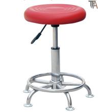 Rojo Rotary material de ABS para taburete de bar (TF 6012)