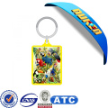 3D Lenticular Picture Advertising Acrylic Keychain