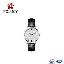 Stainless Steel Leather Simple Design Watches