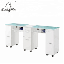 double nail salon equipment beauty nail table for sale