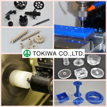 Plastic processing original equipment manufacturer (OEM) for PPS, PEI, PVDF, etc. Made in Japan (precision machined parts)