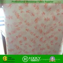 Tela impressa poliéster dos vestuários da forma para a roupa das mulheres