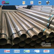 Tubería de acero al carbono sin costura revestida DIN30670 3lpe