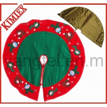 Wholesale Embroidery Promotion Christmas Tree Skirt