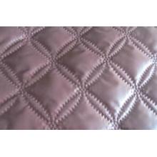 Matelassage Polyester microfibre solides couvre-lits Reine à ultrasons