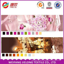 polyester cotton fabric 3D printed for bed sheets bedding sets
