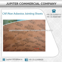 Solid Tough Material Made Jointing Sheets / Gaskets Available for Sale at Considerable Price