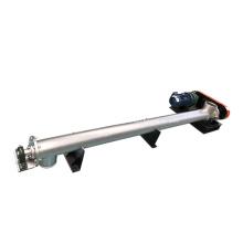 Transportador de parafuso de rosca sem-fim de altura ajustável