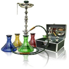 Factory Price Hookah for Smoking with 4 Colors Vase (ES-HK-069)
