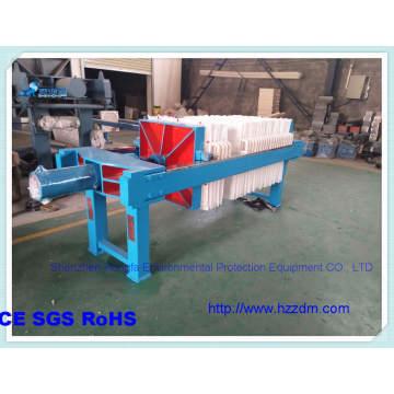 Filtre-presse d'assèchement des résidus de traitement de minerai de fer