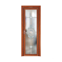 WANJIA Moden Design Aluminum Bathroom Frosted glass Interior Doors