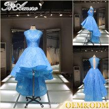 2017 mulheres de casamento com desconto vestidos de dama de honra à noite azul