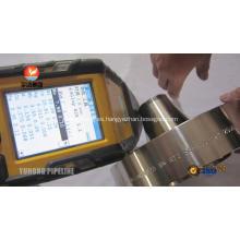 Reborde de acero Inconel 625 ASTM B564 UNS U06625