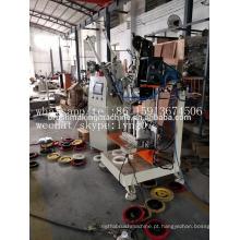 2 eixos CNC escova de disco de perfuração e máquina de tufagem