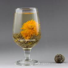 Jing Hua Nu Fang(Marigold flying green blooming tea RMT BMG009) EU STANDARD