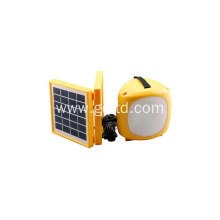 Rechargeable Solar Lantern with Foldable Solar Panel