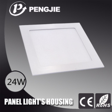 Die Casting ADC12 Alumínio 24W LED Luz de teto (Square)