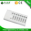 GLE-808 8 Slots Led AA Battery Charger For AA/AAA NI-MH/NI-CD Rechargeable Battery