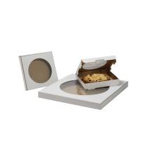 Одноразовые вынуть бумажные изготовленные на заказ коробки упаковки для пиццы