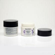 50g / 1.6oz Körperpflege Make-up Verwenden PETG Körper Creme Verpackung Jar