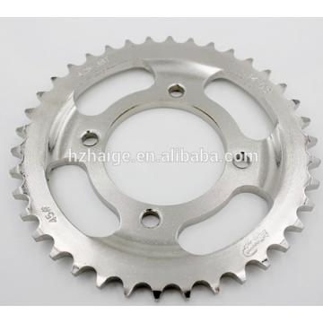 Präzisionsbearbeitung Aluminiumlegierung Motorradwagen Zahnradteile