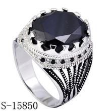 Joyería de la nueva llegada 925 Sterling Fashion Ring para hombre