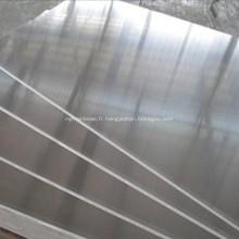 Plaque en aluminium pour bord du navire