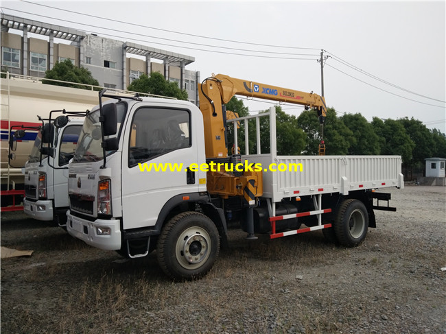 3 Ton Vehicle Mounted Cranes