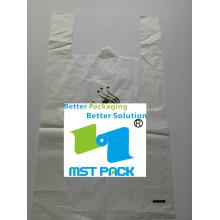 Биоразлагаемый мешок PLA с ручкой