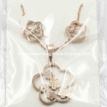 Ensembles de bijoux à la mode en acier inoxydable pour China Factory Price