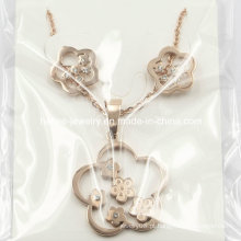 Moda jóias de aço inoxidável conjuntos para a China preço de fábrica