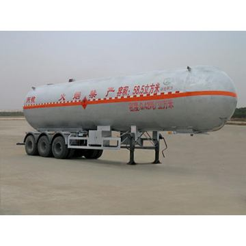 13m Tri-axle Liquefied Gas Transport Semi Trailer