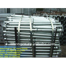 galvanized industrial ball handrail