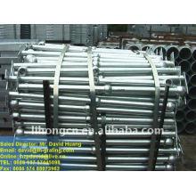 galvanized industrial ball handrail