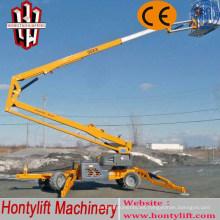 16 m CE venta barata auge de china / plataforma elevadora hidráulica / elevador de brazo