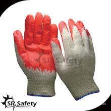 SRSAFETY 10G Перчатки с латексным покрытием, экономичный стиль, латексные перчатки