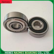 Rodamiento pequeño Tamaño de agujero de 5 mm Rodamiento rígido de bolas Utilizado en Micro Wheel 606