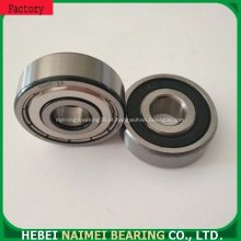 rolamento de esferas profundo pequeno do sulco do tamanho pequeno do furo de 5mm usado na micro roda 606