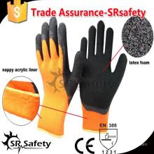 SRSAFETY 7G Терри трикотажные хлопчатобумажные зимние перчатки / Термическая зимняя перчатка