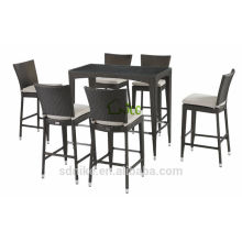 rattan furniture>bar tables and chairs
