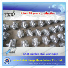 KCB-300 Stainless Steel 304 hydraulic Gear Oil Pump