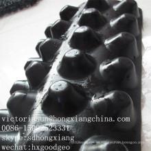 Geomembrana de hoyuelos de HDPE