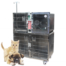 Veterinary Stainless Steel Dog Kennel Vet Equipment Animal Cages for pet clinic