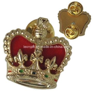 Corona oro tarjeta de identificación militar (LM10053)