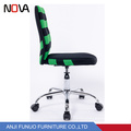 Small back kids fabric office racing computer chair without armrest
