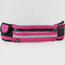 Red Waterproof Adjustable Neoprene Waist Bags