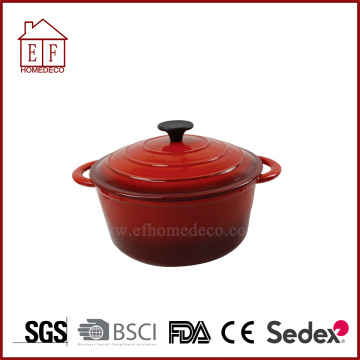 Red Cast Iron soong
