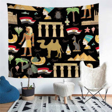 Unique Ancient Egypt Handmade Tapestry, and Suitable for Four Season