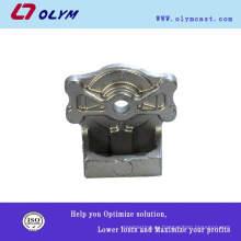 OEM литье под давлением стальные изделия прецизионные литые декоративные ручки